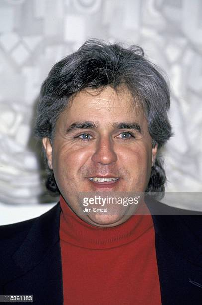 Jay Leno during Press Conference to Announce the Arrival of Tonight Show to New York at Rockefeller Plaza in New York New York City United States