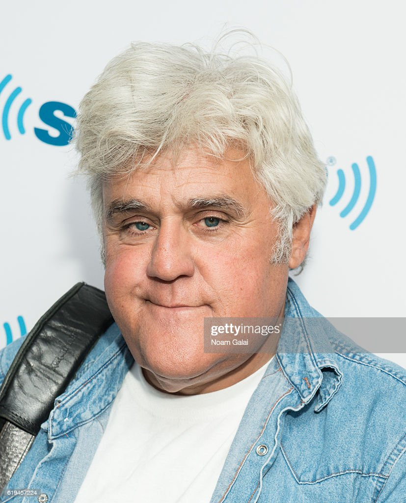 Jay Leno visits the SiriusXM Studio on October 31, 2016 in New York City.