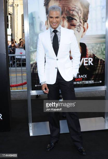 Jay Manuel arrives at the Los Angeles Premiere The Hangover Part II at Grauman's Chinese Theatre on May 19 2011 in Hollywood California