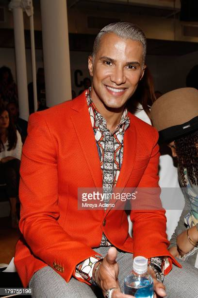 Jay Manuel attend the Cushnie Et Ochs fashion show during MADE Fashion Week Spring 2014 at Milk Studios on September 6 2013 in New York City