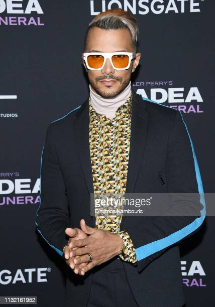 Jay Manuel attends a screening for Tyler Perry's A Madea Family Funeral at SVA Theater on February 25 2019 in New York City