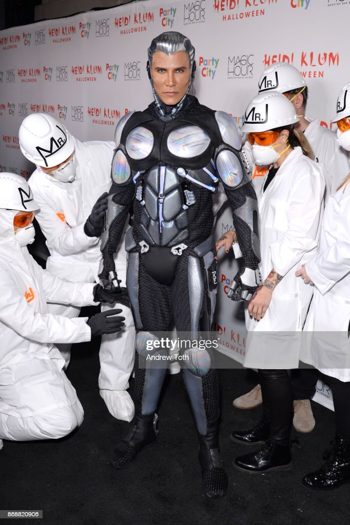 Jay Manuel attends Heidi Klum's 18th annual Halloween party at Magic Hour Rooftop Bar & Lounge on October 31, 2017 in New York City.