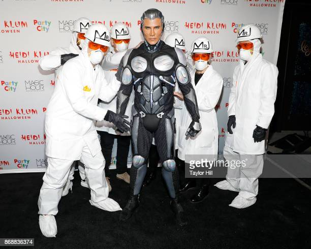 Jay Manuel attends Heidi Klum's 18th Annual Halloween Party at Magic Hour Rooftop Bar Lounge on October 31 2017 in New York City