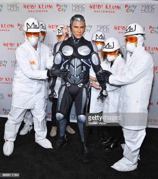 Jay Manuel attends Heidi Klum's 18th Annual Halloween Party presented by Party City and SVEDKA Vodka at Magic Hour Rooftop Bar Lounge at Moxy Times...