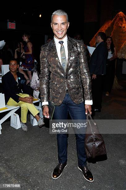 Jay Manuel attends the Christian Siriano fashion show during MercedesBenz Fashion Week Spring 2014 at Eyebeam on September 7 2013 in New York City