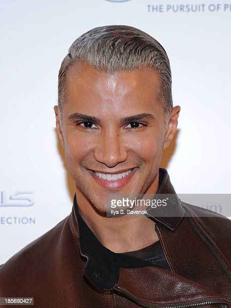 Jay Manuel attends the VIP reception and viewing for The Fashion World of Jean Paul Gaultier From the Sidewalk to the Catwalk at the Brooklyn Museum...