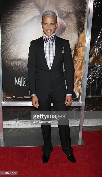Jay Manuel attends the Where the Wild Things Are premiere at Alice Tully Hall Lincoln Center on October 13 2009 in New York City