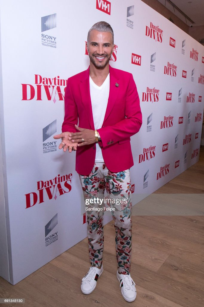 Jay Manuel attends VH1 Daytime Divas Premiere Event at the Whitby Hotel on June 1, 2017 in New York City.