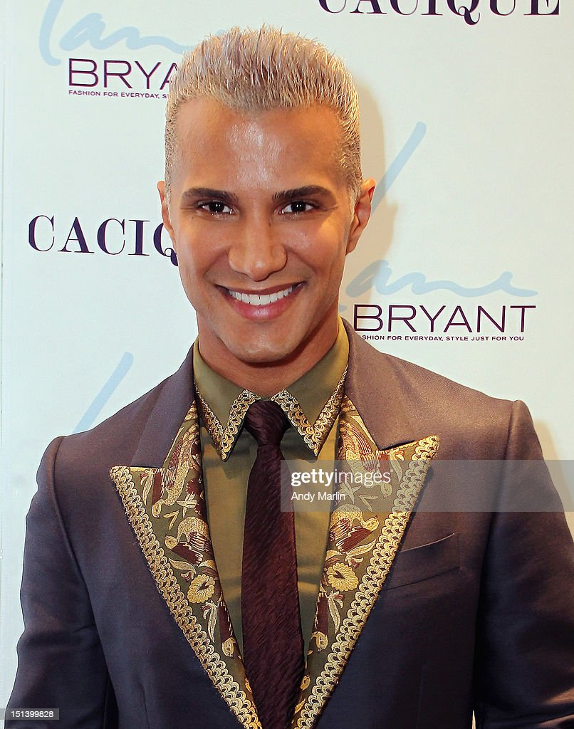 Jay Manuel poses for a photo during Fashion Guru Jay Manuel Hosts Lane Bryant's Fashion Night Out on September 6, 2012 in Brooklyn, New York.
