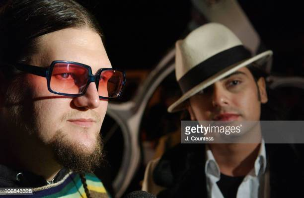 Jay McCarroll and Mario Cadenas are designer/contestants on Bravo's new reality series Project Runway