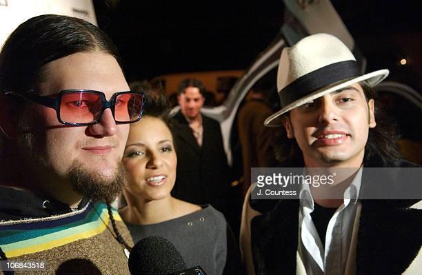 Jay McCarroll Nora Caliguri and Mario Cadenas are designer/contestants on Bravo's new reality series Project Runway