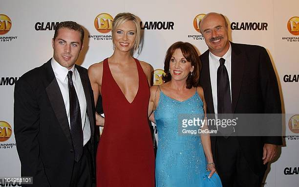 Jay McGraw Amy Mueller Robin McGraw and Dr Phil McGraw