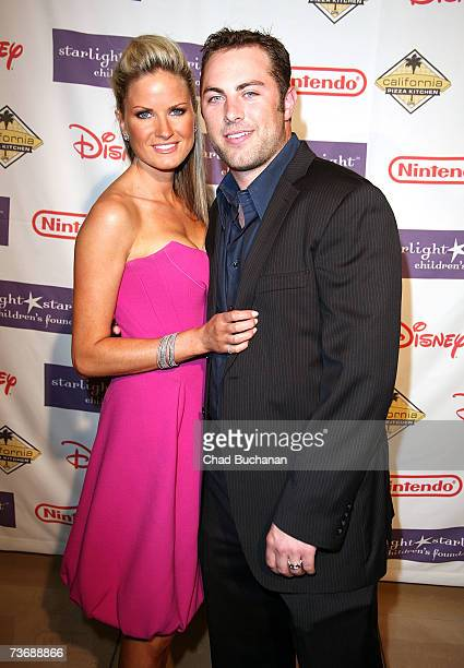Jay McGraw and wife Erica Dahm attend the Starlight Foundation's A Stellar Night Gala at the Beverly Hills Hotel on March 23 2007 in Beverly Hills...
