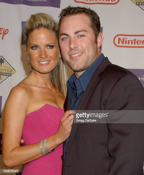 Jay McGraw and wife Erica Dahm during 2007 Starlight Starbright Children's Foundation Gala Arrivals at Beverly Hilton Hotel in Beverly Hills...