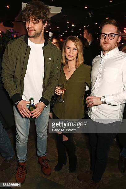 Jay McGuiness and guests attend the launch of Bunga Bunga in Covent Garden on January 12 2017 in London England