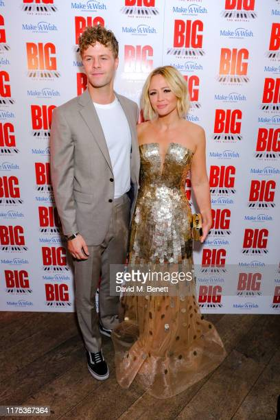 Jay McGuiness and Kimberley Walsh attending the press night after party of Big The Musical at The Dominion Theatre on September 17 2019 in London...