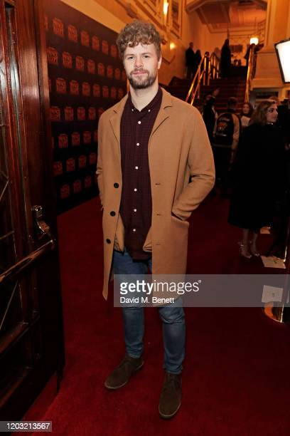 Jay McGuiness attends the gala night performance of The Prince of Egypt at the Dominion Theatre on February 25 2020 in London England