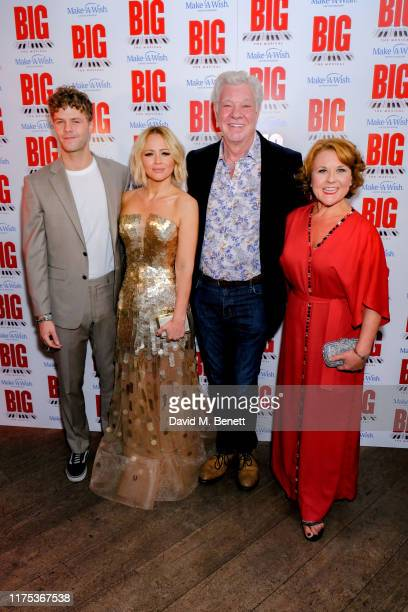 Jay McGuiness Kimberley Walsh Matthew Kelly and Wendi Peters attending the press night after party of Big The Musical at The Dominion Theatre on...