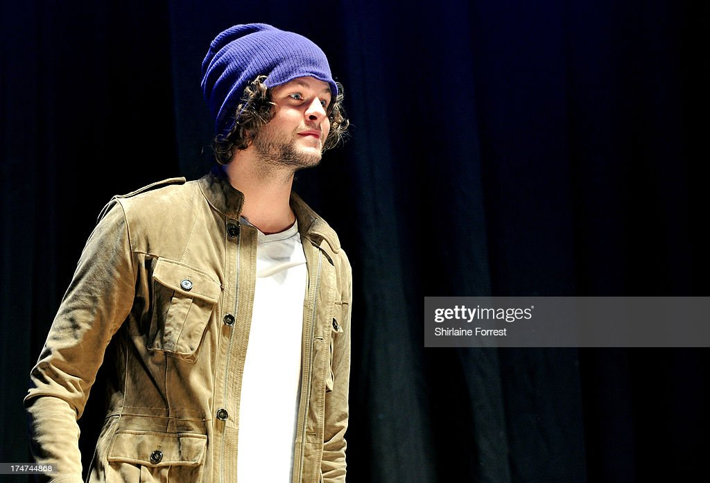 Jay McGuiness of The Wanted performs at Key 103 Live at Manchester Arena on July 28, 2013 in Manchester, England.