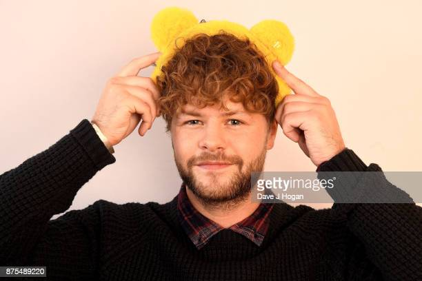 Jay McGuiness shows support for BBC Children in Need at Elstree Studios on November 17 2017 in Borehamwood England