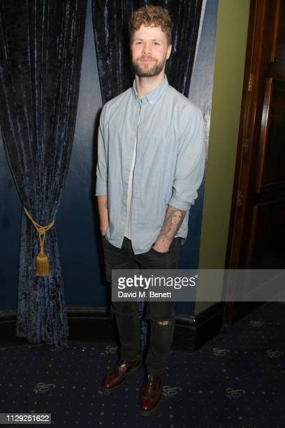 Jay McGuinness attends the press night after party for Rip It Up at Cafe de Paris on February 12 2019 in London England