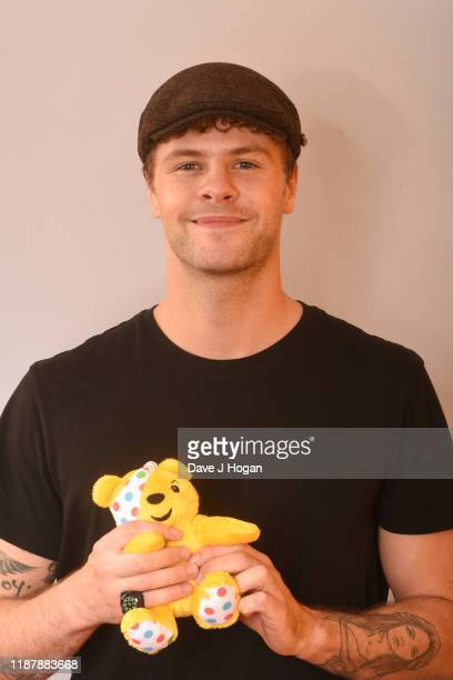 Jay McGuinness backstage at BBC Children in Need's 2019 Appeal night at Elstree Studios on November 15 2019 in Borehamwood England