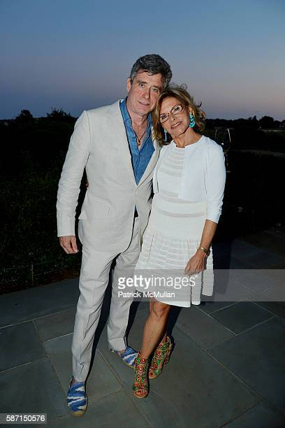 Jay McInerney and Diane Tuft attend Tom Diane Tuft and Christina Cuomo Celebrate the Launch of Jay McInerney's New Novel Bright Precious Days at...