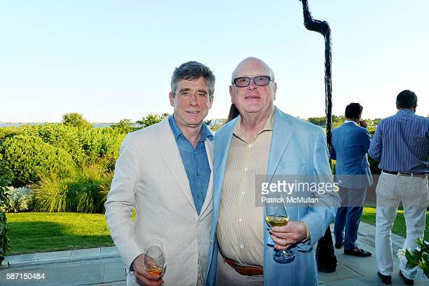 Jay McInerney and Tom Tuft attend Tom Diane Tuft and Christina Cuomo Celebrate the Launch of Jay McInerney's New Novel Bright Precious Days at...