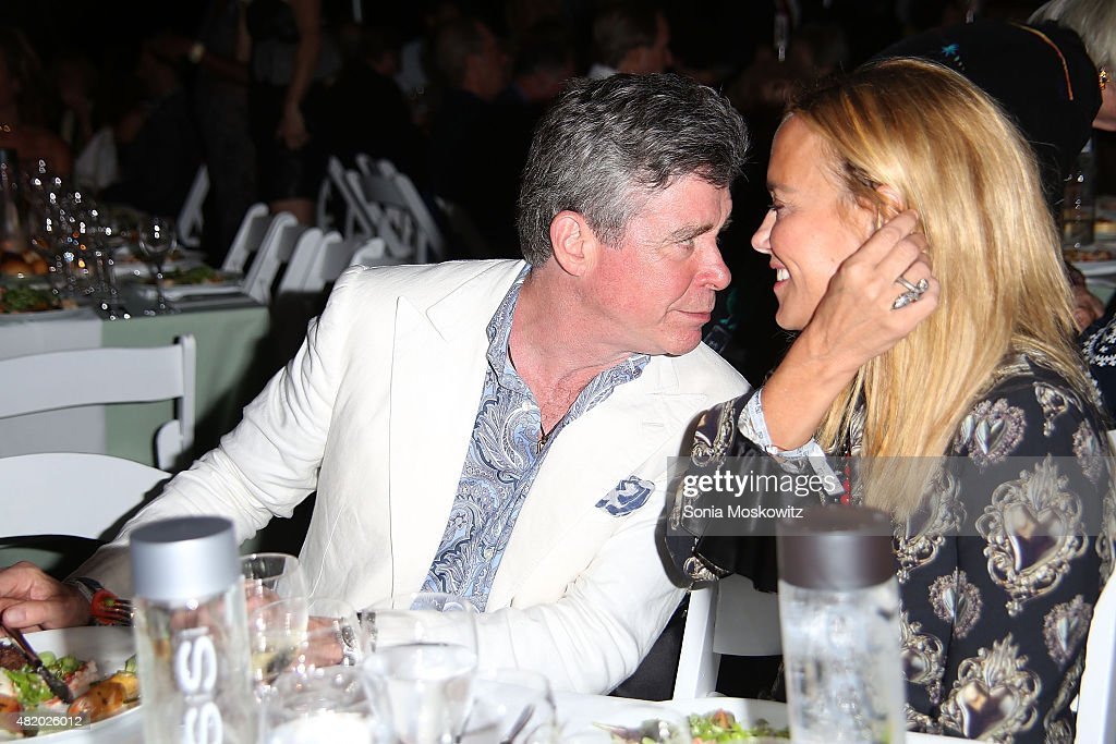 Jay McInerney attends the 22nd Annual Summer Benefit and Auction at The Watermill Center, 'Circus of Stillness', on July 25, 2015 in Water Mill, New York.