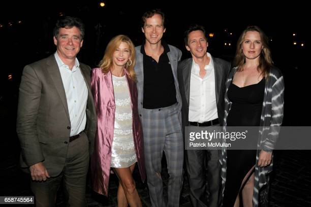 Jay McInerney, Candace Bushnell, Charles Askegard, Andrew McCarthy and Dolores Rice attend THE CINEMA SOCIETY & THE NEW YORKER host the after party...