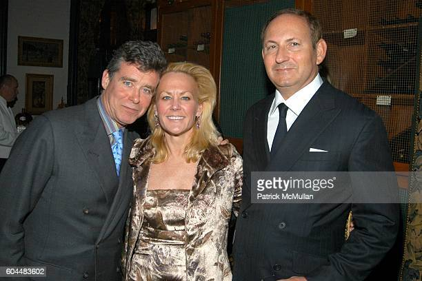 Jay McInerney Muffie Potter Aston and John Demsey attend Engagement Dinner for JAY MCINERNEY and ANNE HEARST hosted by GEORGE FARIAS at La Grenouille...