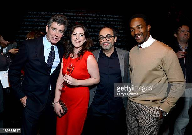 Jay McInerney Sarah Harris Wallman Gary Shteyngart and Anthony Mackie attend PRADA Journal A Literary Contest In Collaboration With Feltrinelli...
