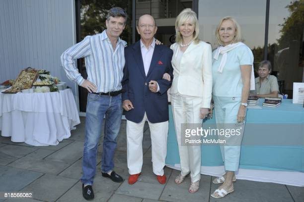 Jay McInerney Wilbur Ross Hilary Ross and Cornelia Bregman attend Anne Hearst McInerney and Jay McInerney Host A Party For TAYLOR PLIMPTON and His...