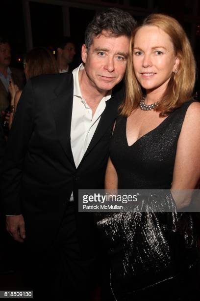 Jay McInerny Anne Hearst attend The Launch of SASHA LAZARD'S Myth of Red Concert Series at the Top of The Standard Hotel on December 09 2009 in New...