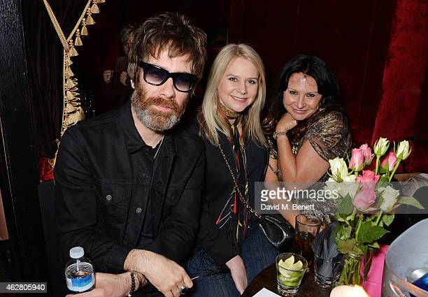 Jay Mehler, Lee Starkey and Fran Cutler attend the Oh My Love Pre-LFW Disco at The Scotch of St James on February 5, 2015 in London, England.
