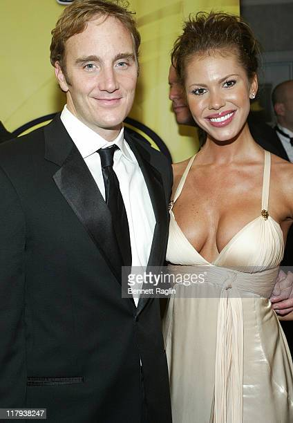 Jay Mohr and Nikki Cox at the Nascar awards banquet at the Waldorf Astoria in New York City New York on December 1 2006