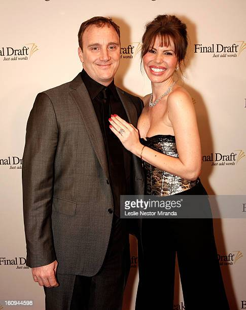 Jay Mohr and Nikki Cox attend the Final Draft 1st Annual Screenwriters Choice Awards held at The Paley Center for Media on February 7 2013 in Beverly...