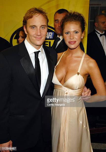 Jay Mohr and Nikki Cox during 2006 NASCAR NEXTEL Cup Series Awards Ceremony at Waldorf Astoria in New York City New York United States