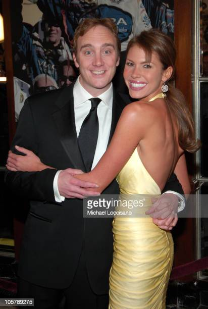 Jay Mohr and Nikki Cox during NASCAR NEXTEL Cup Series Awards Ceremony December 2 2005 at The WaldorfAstoria in New York City New York United States
