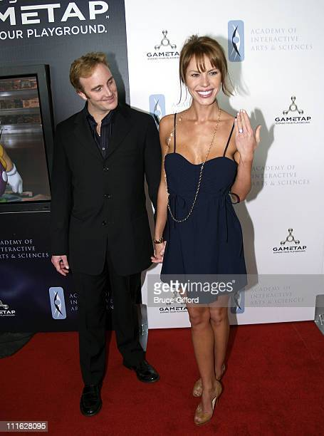 Jay Mohr and Nikki Cox during The Ninth Annual Interactive Achievement Awards at The Joint The Hard Rock Hotel in Las Vegas Nevada United States
