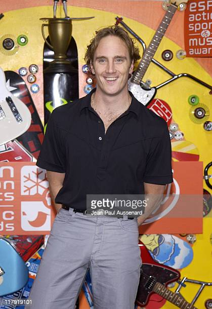 Jay Mohr during ESPN Action Sports and Music Awards Pressroom at The Universal Ampitheatre in Universal City California United States