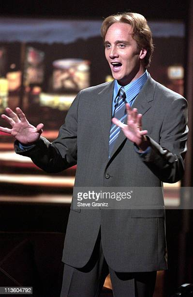 Jay Mohr during ESPN's Mohr Sports at Studio in Los Angeles California United States