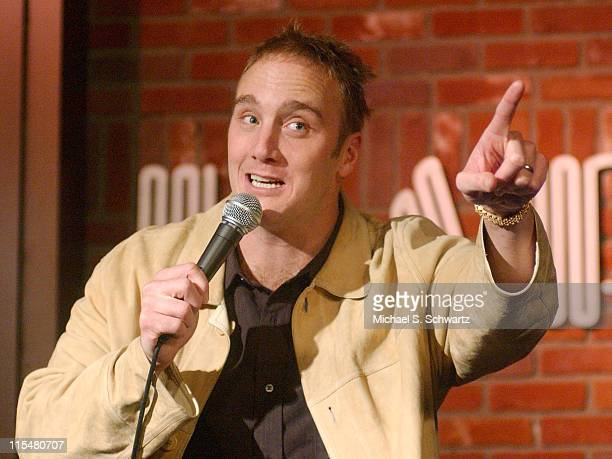Jay Mohr during Safe Arms Benefit Starring Jay Mohr at The Hollywood Improv in Hollywood California United States