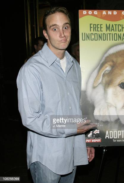 Jay Mohr during Singita Animal Rescue's 5th Annual Night Of Comedy at El Capitan Theatre in Hollywood California United States