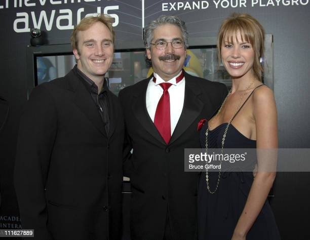 Jay Mohr Joseph Olin and Nikki Cox during The Ninth Annual Interactive Achievement Awards at The Joint The Hard Rock Hotel in Las Vegas Nevada United...