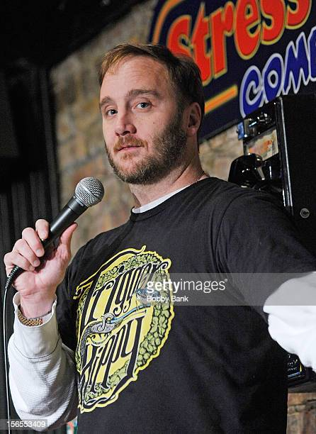 Jay Mohr performs at The Stress Factory Comedy Club on November 16 2012 in New Brunswick New Jersey