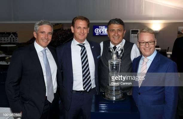 Jay Monahan the PGA Tour Commissioner Josh Burack The CEO of the Asian Tour Selwyn Nathan The Executive Director of the Sunshine Tour in South Africa...