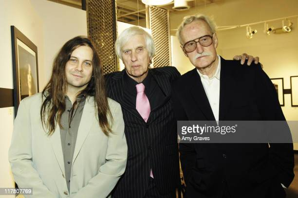 Jay Nailor, Douglas Kirkland and William Claxton during 18th Annual Palm Springs International Film Festival - Blow-Up Photography Exhibit Reception...