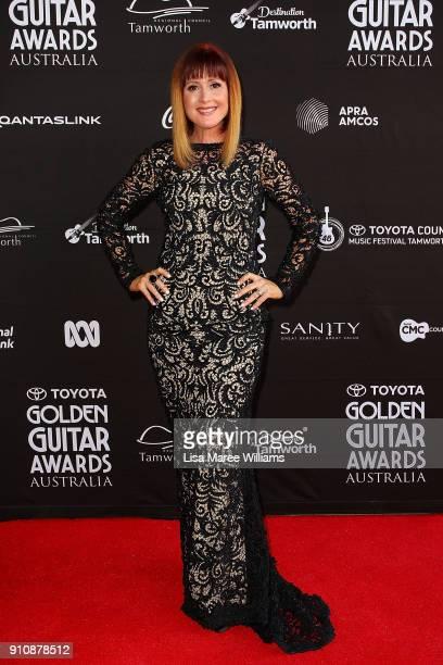 Jay O'Shea arrives at the 2018 Toyota Golden Guitar Awards on January 27 2018 in Tamworth Australia