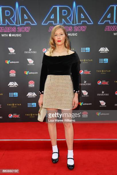 Jay O'Shea arrives for the 31st Annual ARIA Awards 2017 at The Star on November 28 2017 in Sydney Australia